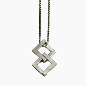 Geom Balance Pendant - necklaces & pendants