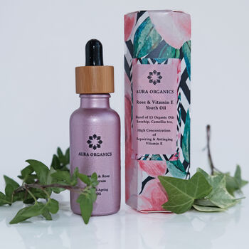 Vitamin E And Rose Youth Serum