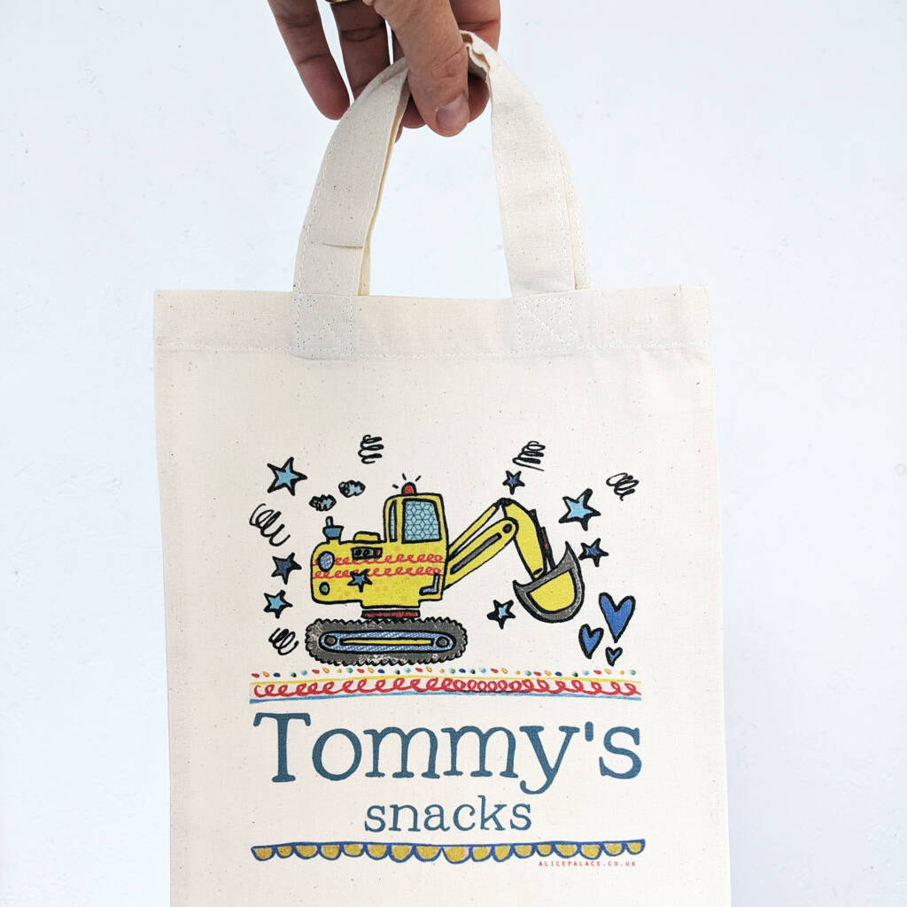 Personalised Snack Bag