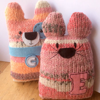 Personalised Knitty Cats And Dogs