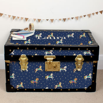 Horses And Stars Tuck Box