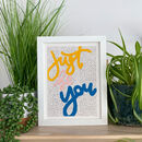Just Be You Print
