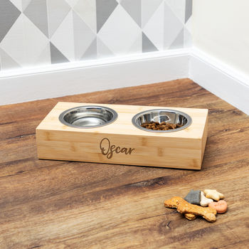 Personalised Pet Bowl For Small Dog Or Cat