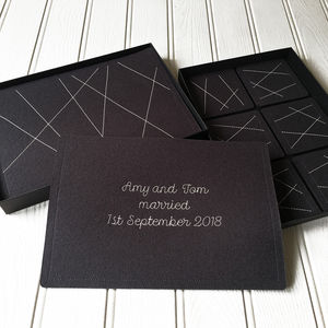 Personalised Wedding/Anniversary Set Of Table Mats - kitchen