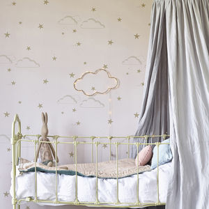 Starry Sky Wallpaper - dreamland nursery