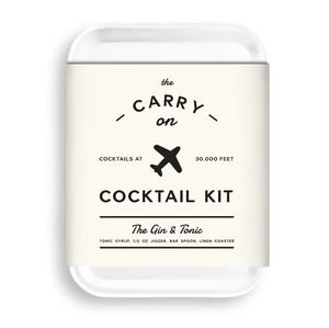 Pocket Cocktail Kit Gin And Tonic - make your own kits