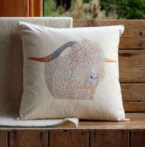 Angora Goat Cushion Cover - cushions