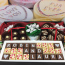 Large Personalised Silver Wedding Anniversary Hamper