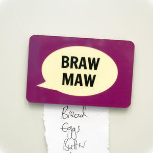 'Braw Maw' Fridge Magnet - kitchen accessories