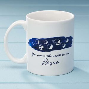 Personalised 'You Mean The Word To Me' Mug