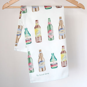 Beer Craft Ale Tea Towel