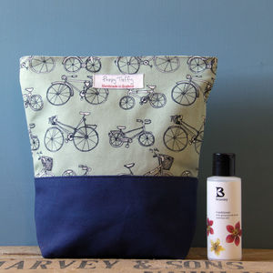 Bicycle Wash Bag - wash & toiletry bags