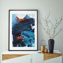 Modern Contemporary Framed Art Print