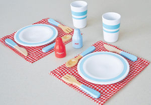 Pretend Play Dining Set For Two People