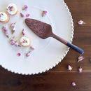 Coconut Wood Cake Server