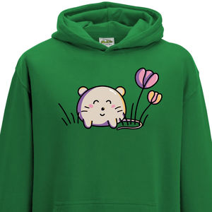 Cute Kawaii Mouse Child Hoodie - clothing