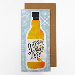 Father's Day Whisky Card