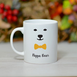 'Pappa Bear' Mug - tableware