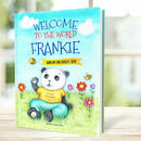 Personalised Book For Baby 'Welcome To The World'
