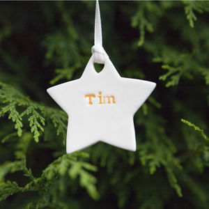 Personalised Christmas Tree Decorations - personalised