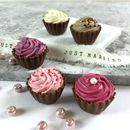 Cupcake Chocolate Favours Four Boxes