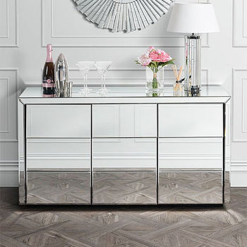 Mirrored Art Deco Sideboard
