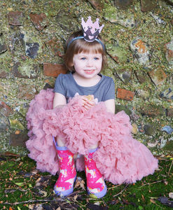 Rose Pettiskirt Tutu