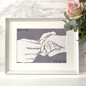 'Hand In Marriage' Print