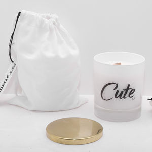 'Cute' Soy Wax Candle - tableware