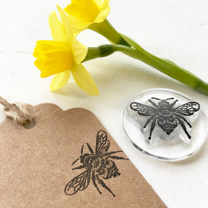 Bumble Bee Clear Rubber Stamp