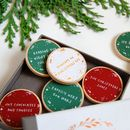 Personalised Family Christmas Traditions Foiled Tokens