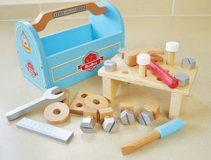 Pretend Play Toolbox Set - traditional toys & games