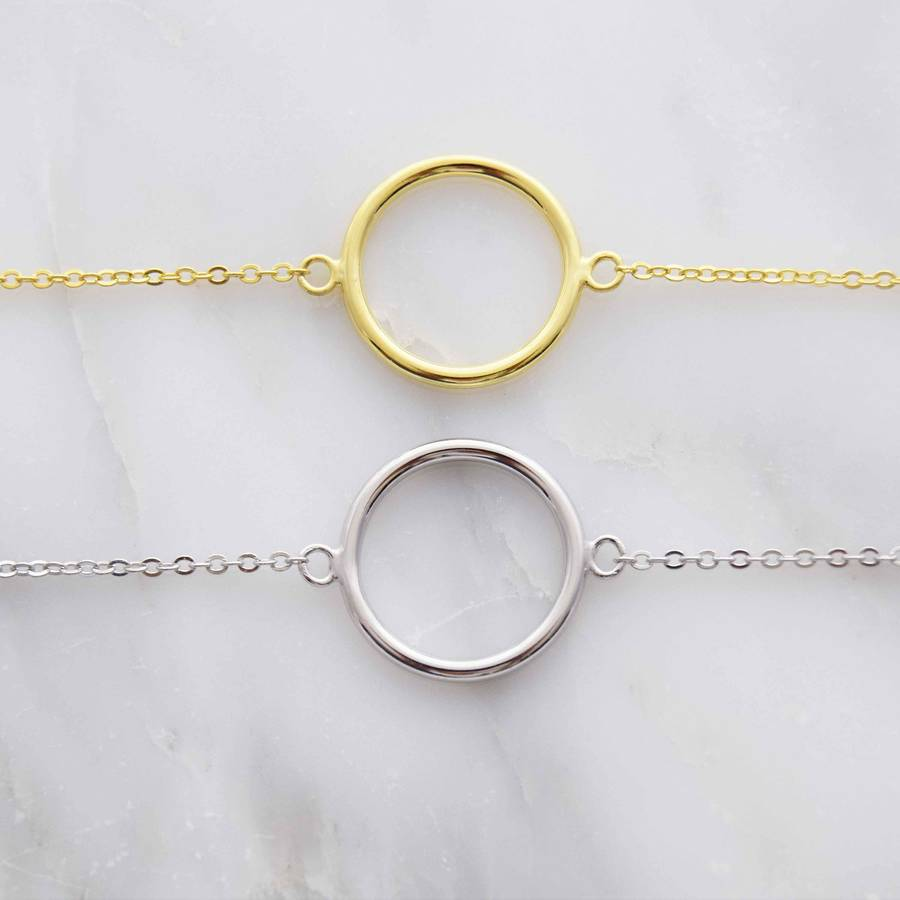 hollow tone bracelet light fancy two