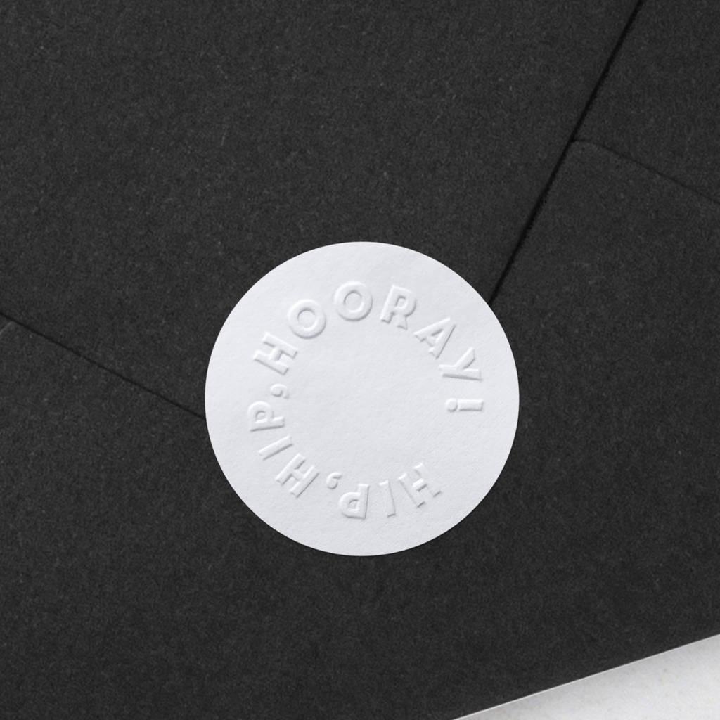 Modern Minimal 50th Birthday Invitations With Envelope