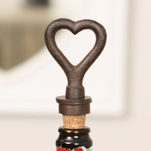 His And Hers Pair Of 6th Anniversary Bottle Stoppers