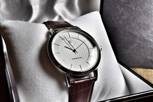 Classic Gentleman's Timepiece Bianco Brown Watch - valentine's gifts for him