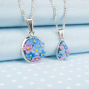Choice Of Forget Me Not Pendant Necklace
