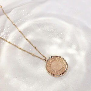 Gold Zodiac Necklace