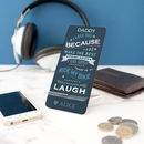 Personalised 'Message To Dad' Mobile Phone Stand