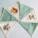 Woodland Animal Mini Cotton Bunting