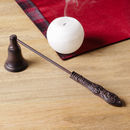 Antique Bronze Iron Candle Snuffer