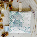 Dotty Bird Lavender Bag