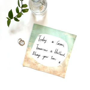 Wedding Handkerchief: Six Choices - wedding favours