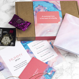 Personalised Mummy Gift Box - stationery