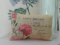 Hand printed fragranced gift sachets