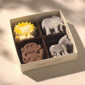 Lion, Zebra, Elephant And Monkey - chocolates & confectionery