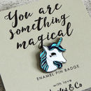 Magical Unicorn Enamel Pin Badge