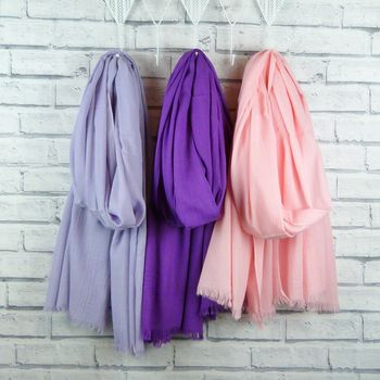 Lightweight Scarf Lilac, Purple, Pink