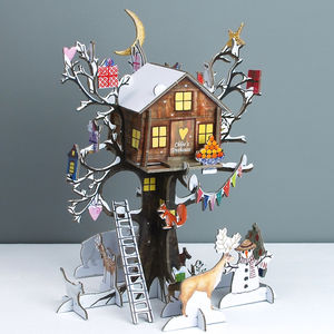 Personalised Treehouse Advent Calendar - advent calendars