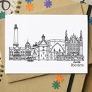 Aberdeen Cityscape Greetings Card